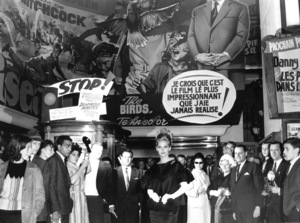 """""""The Birds""""Tippi Hedren at a European Publicity Tour.1963 Universal / **I.V. - Image 3302_0025"""