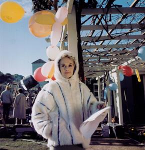 """""""The  Birds""""Tippi Hedren on the set.1963 Universal / **I.V. - Image 3302_0033"""