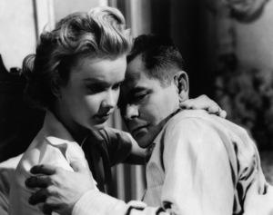 """""""Blackboard Jungle""""Anne Francis, Glenn Ford1955 MGM - Image 3305_0001"""