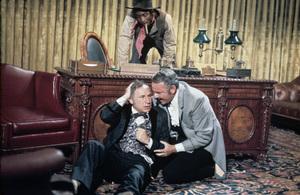 """""""Blazing Saddles""""Cleavon Little, Mel Brooks, Harvey Korman1974 Warner Brothers** I.V. - Image 3306_0312"""