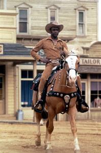 """""""Blazing Saddles""""Cleavon Little © 1974 Warner Brothers** I.V. - Image 3306_0319"""