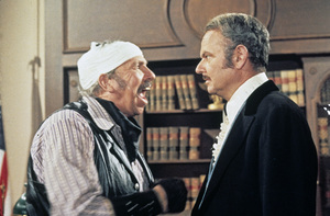 """Blazing Saddles""Slim Pickens, Harvey Korman1974 Warner Brothers** I.V. - Image 3306_0320"