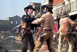"""Blazing Saddles""Gene Wilder, Cleavon Little © 1974 Warner Brothers** I.V. - Image 3306_0322"