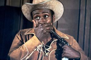 """""""Blazing Saddles""""Cleavon Little © 1974 Warner Brothers** I.V. - Image 3306_0329"""