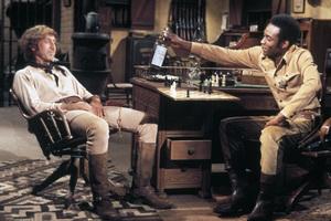 """""""Blazing Saddles""""Gene Wilder, Cleavon Little © 1974 Warner Brothers** I.V. - Image 3306_0331"""