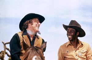 """""""Blazing Saddles""""Gene Wilder, Cleavon Little © 1974 Warner Brothers** I.V. - Image 3306_0333"""