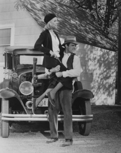 """""""Bonnie and Clyde""""Faye Dunaway and Warren Beatty1967 Warner Bros.**J.S.C. - Image 3314_0014"""