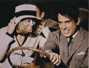 """Bonnie and Clyde""Faye Dunaway and Warren Beatty1967 Warner Bros. - Image 3314_0151"