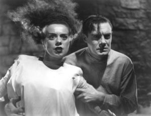 """Bride of Frankenstein""""Colin Clive, Elsa Lanchester1935 Universal - Image 3318_0007"""