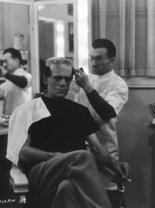 Boris KarloffDressing RoomBride Of Frankenstein, The (1935)Photo by Roman Freulich0026138**I.V. - Image 3318_0020