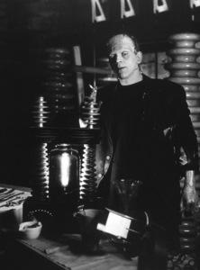 Boris KarloffFilm SetBride Of Frankenstein, The (1935)Photo by Roman Freulich0026138**I.V. - Image 3318_0021