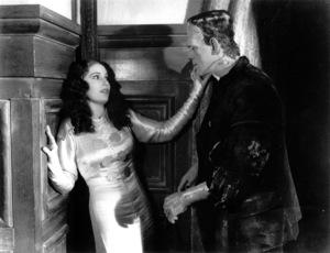 """Bride Of Frankenstein""Valerie Hobson, Boris Karloff1935 Universal /**I.V. - Image 3318_0026"