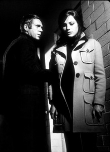 """Bullitt""Steve McQueen, Jacqueline Bisset1968 Warner © 1978 Mel Traxel  - Image 3321_0003"