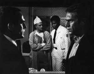 """""""Bullitt""""Don Gordon, Steve McQueen1968 Solar ProductionsPhoto by Mel Traxel** I.V. - Image 3321_0306"""