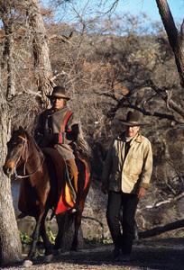 """Cahill, US Marshal,"" Warner Bros. 1973.Neville Brand and John Wayne. © 1978 David Sutton - Image 3327_0008"