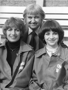 """Captain Kangaroo""Penny Marshall, Bob Keeshan, Cindy Williamscirca 1973Photo by Gabi Rona - Image 3335_0002"