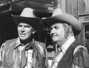 """Captain Kangaroo""Andy Williams & Bob Keeshan1978Photo By Gabi Rona - Image 3335_0009"