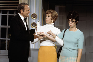 """The Carol Burnett Show""Harvey Korman, Carol Burnett, Vicki Lawrencecirca 1977Photo by Gabi Rona - Image 3338_0033"