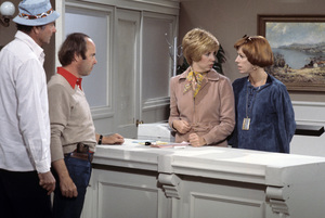 """The Carol Burnett Show""Harvey Korman, Tim Conway, Vicki Lawrence, Carol Burnettcirca 1977Photo by Gabi Rona - Image 3338_0035"