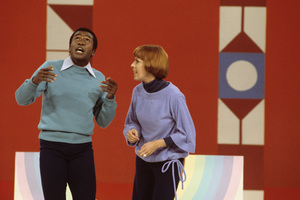 """The Carol Burnett Show""Ben Vereen, Carol Burnett1978Photo by Gabi Rona - Image 3338_0047"