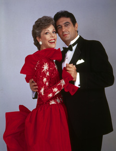 """The Carol Burnett Show""Carol Burnett, Placido Domingo1978Photo by Gabi Rona - Image 3338_0055"