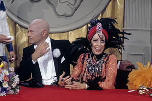 """The Carol Burnett Show""Harvey Korman, Carol Burnettcirca 1977Photo by Gabi Rona - Image 3338_0061"
