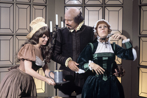 """The Carol Burnett Show""Vicki Lawrence, Harvey Korman, Carol Burnettcirca 1977Photo by Gabi Rona - Image 3338_0071"
