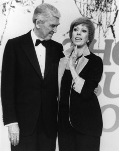 """The Carol Burnett Show""James Stewart, Carol Burnettcirca 1978Photo by Gabi Rona - Image 3338_0079"