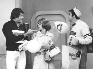 """Carol Burnett Show""Lyle Waggoner, Carol Burnett, Jim NaborsCirca 1967 CBSPhoto by Gabi Rona - Image 3338_0135"