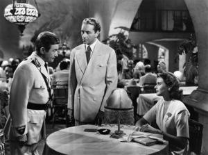"""Casablanca""Claude Rains, Paul Henreid, Ingrid Bergman1942 Warner Brothers - Image 3339_0002"