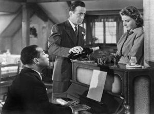"""""""Casablanca"""" Dooley Wilson, Humphrey Bogart, Ingrid Bergman 1942 - Image 3339_0011"""