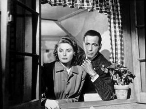 """Casablanca""Ingrid Bergman and Humphrey Bogart1942 Warner Bros.MPTV - Image 3339_0305"