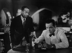 """Casablanca""Dooley Wilson and Humphrey Bogart 1942 Warner Bros.MPTV - Image 3339_0310"