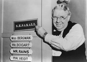 """Casablanca""S.Z. Sakall1942 Warner Brothers - Image 3339_0320"