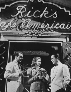 """Casablanca""Paul Henreid, Ingrid Bergman, Humphrey Bogart1942 Warner Brothers - Image 3339_0329"