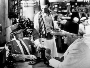 """Casablanca""Humphrey Bogart and Sydney Greenstreet1942 Warner Bros.MPTV - Image 3339_0333"
