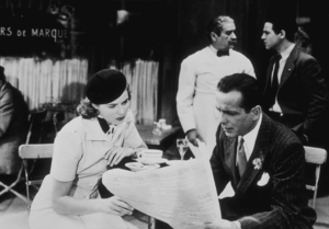 """Casablanca""Ingrid Bergman and Humphrey Bogart1942 Warner Bros.MPTV - Image 3339_0337"