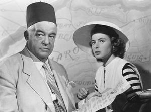 """Casablanca""Sydney Greenstreet, Ingrid Bergman1942 Warner Brothers** R.C. - Image 3339_0342"