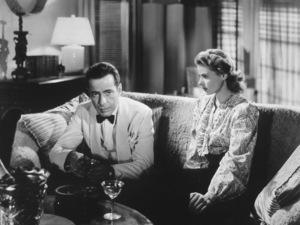 """""""Casablanca"""" Humphrey Bogart and Ingrid Bergman1942 Warner**I.V. - Image 3339_0362"""