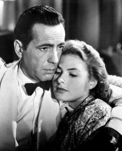 """""""Casablanca""""Humphrey Bogart and Ingrid Bergman1942 Warner Bros.**I.V. - Image 3339_0367"""