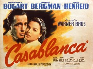 """""""Casablanca""""Poster1942 Warner Brothers**I.V. - Image 3339_0369"""