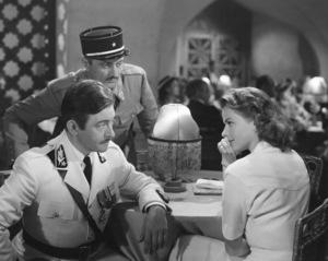 """Casablanca""Claude Rains, Ingrid Bergman1942 Warner Brothers**I.V. - Image 3339_0373"