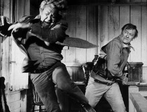"""Chisum,"" Warner Bros. 1969.Forrest Tucker and John Wayne. © 1978 David Sutton - Image 3349_0132"