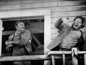 """Chisum,"" Warner Bros. 1969.John Wayne and Forrest Tucker. © 1978 David Sutton - Image 3349_0133"