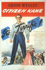 """""""Citizen Kane""""Poster1941 RKO**I.V. - Image 3353_0040"""