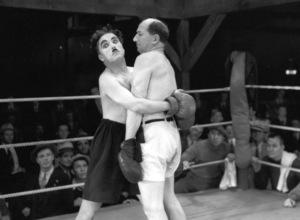 "Charlie Chaplin and Frank Mann in""City Lights,"" 1931.**I.V. - Image 3354_0018"