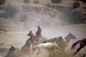 """The Cowboys"" John Wayne 1971 Warner Brothers © 1978 David Sutton - Image 3370_0026"
