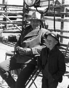 """The Cowboys"" John Wayne, Clay O"