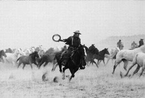 """The Cowboys,""John WayneWarner Bros. 1972. © 1978 Mel Traxel - Image 3370_0637"