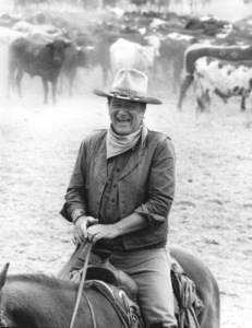 """The Cowboys""John Wayne1972 Warner BrothersPhoto by Mel Traxel - Image 3370_0639"